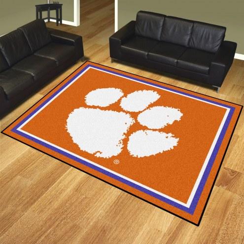 Clemson Tigers 8' x 10' Area Rug