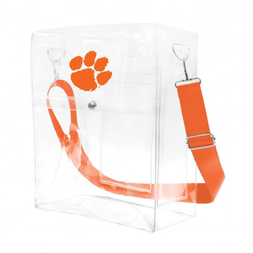 Clemson Tigers Clear Ticket Satchel