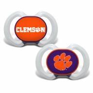 Clemson Tigers Baby Pacifier 2-Pack