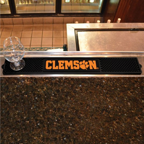 Clemson Tigers Bar Mat