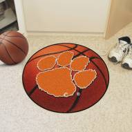 Clemson Tigers Basketball Mat