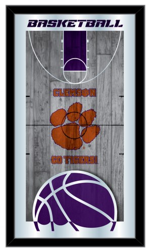 Clemson Tigers Basketball Mirror