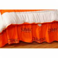 Clemson Tigers Bed Skirt