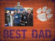 Clemson Tigers Best Dad Clip Frame