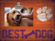 Clemson Tigers Best Dog Clip Frame