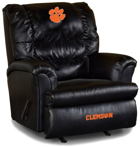 Clemson Tigers Big Daddy Leather Recliner