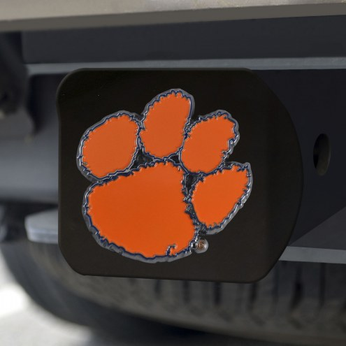 Clemson Tigers Black Color Hitch Cover