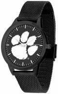Clemson Tigers Black Dial Mesh Statement Watch