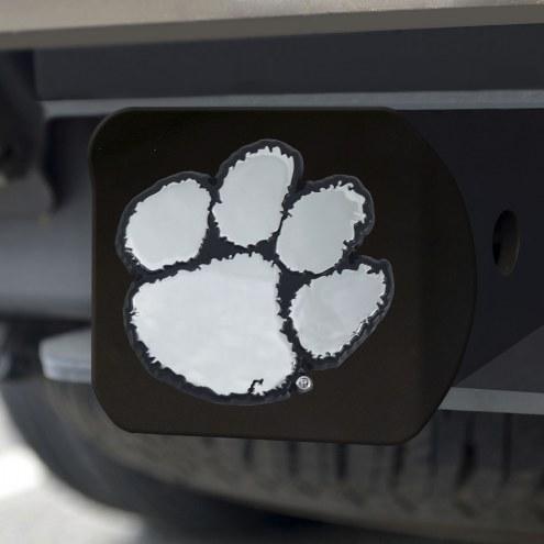 Clemson Tigers Black Matte Hitch Cover