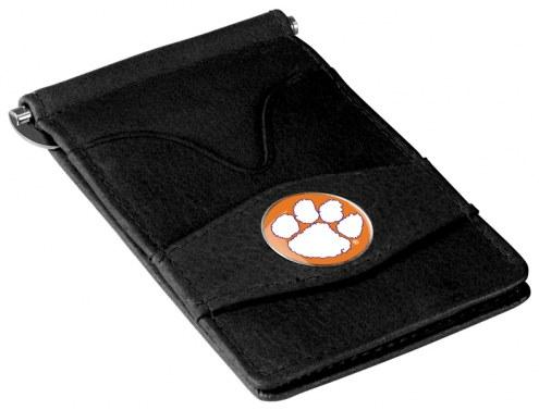 Clemson Tigers Black Player's Wallet