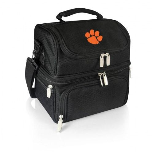 Clemson Tigers Black Pranzo Insulated Lunch Box