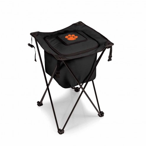 Clemson Tigers Black Sidekick Portable Cooler