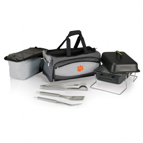 Clemson Tigers Buccaneer Grill, Cooler and BBQ Set