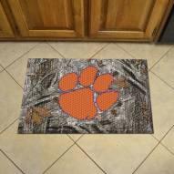 Clemson Tigers Camo Scraper Door Mat