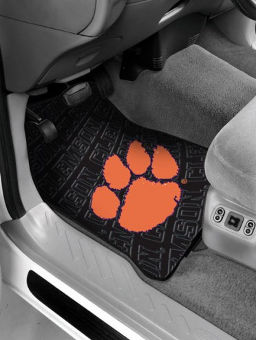 Clemson Tigers Car Floor Mats