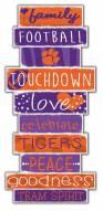 Clemson Tigers Celebrations Stack Sign
