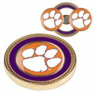 Clemson Tigers Challenge Coin with 2 Ball Markers