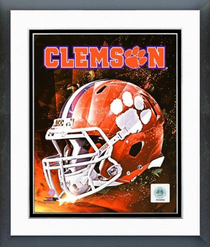 Clemson Tigers Clemson University Tigers Helmet Composite Framed Photo