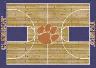 Clemson Tigers College Home Court Area Rug