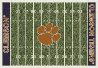 Clemson Tigers College Home Field Area Rug