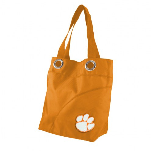 Clemson Tigers Color Sheen Tote Bag