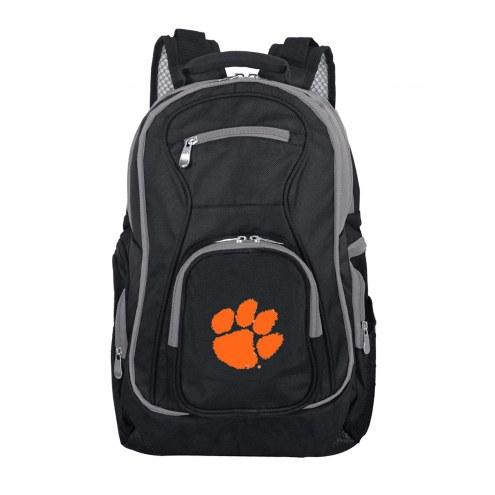 NCAA Clemson Tigers Colored Trim Premium Laptop Backpack