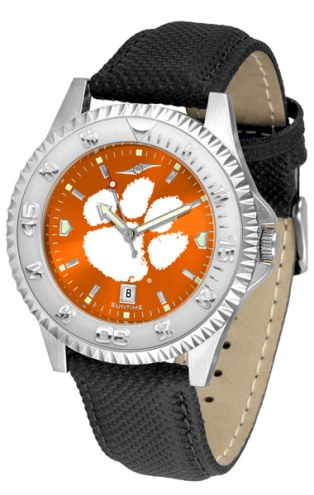 Clemson Tigers Competitor AnoChrome Men's Watch