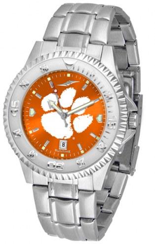 Clemson Tigers Competitor Steel AnoChrome Men's Watch