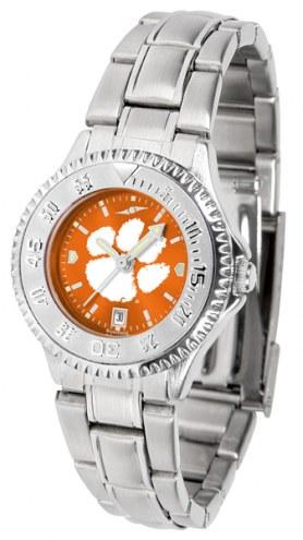 Clemson Tigers Competitor Steel AnoChrome Women's Watch