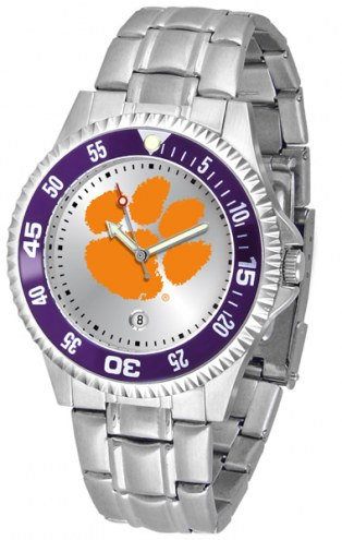 Clemson Tigers Competitor Steel Men's Watch