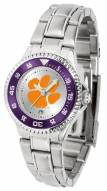 Clemson Tigers Competitor Steel Women's Watch