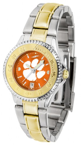 Clemson Tigers Competitor Two-Tone AnoChrome Women's Watch