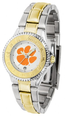 Clemson Tigers Competitor Two-Tone Women's Watch