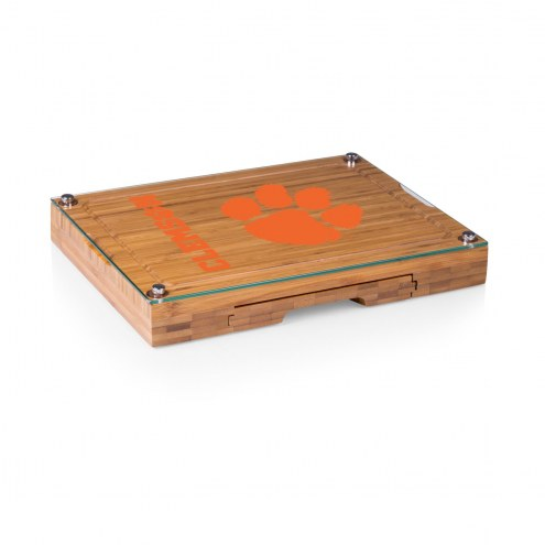 Clemson Tigers Concerto Bamboo Cutting Board