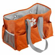 Clemson Tigers Crosshatch Weekend Bag