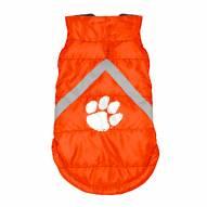 Clemson Tigers Dog Puffer Vest
