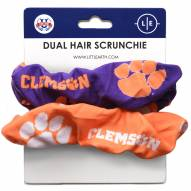 Clemson Tigers Dual Hair Scrunchie