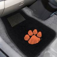 Clemson Tigers Embroidered Car Mats