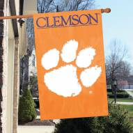 Clemson Tigers NCAA Embroidered / Applique College Flag Banner