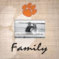 Clemson Tigers Family Picture Frame