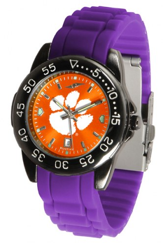 Clemson Tigers Fantom Sport Silicone Men's Watch