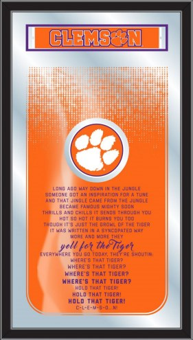 Clemson Tigers Fight Song Mirror