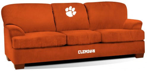 Clemson Tigers First Team Microfiber Sofa