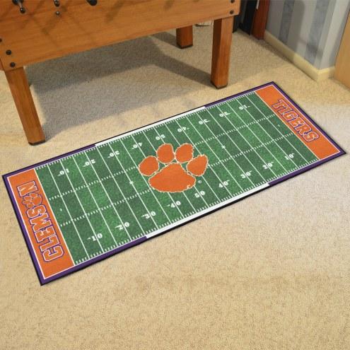 Clemson Tigers Football Field Runner Rug