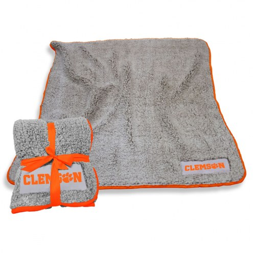 Clemson Tigers Frosty Fleece Blanket