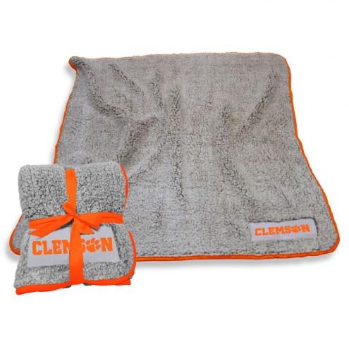 Clemson Tigers Frosty Fleece Blanket