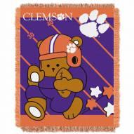 Clemson Tigers Fullback Baby Blanket