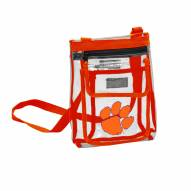 Clemson Tigers Gameday Clear Crossbody Tote