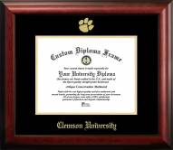 Clemson Tigers Gold Embossed Diploma Frame