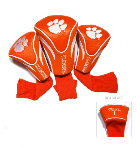 Clemson Tigers Golf Headcovers - 3 Pack